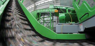 Linia sortownicza odpadowa w zakładzie MBP ZGOK Balin