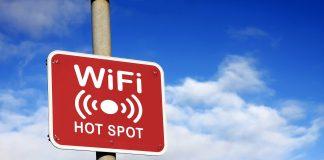 Znak hotspot wifi