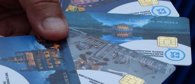 Limitowana wersja karty PEKA na okaziciela z widokówkami z Poznania