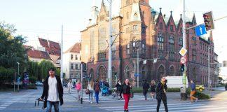 Wrocław piesi