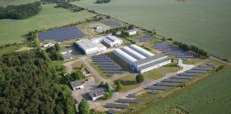 Instalacja fotowoltaiczna o mocy 1,45 MW na terenie szczecińskiego ZWiK (Archiwum ZWiK w Szczecinie)