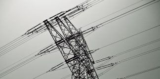 Sieć energetyczna, słup energetyczny