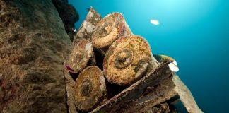 Amunicja na dnie morza
