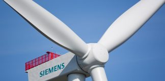 150 Windturbinen mit einer Leistung von je 4 Megawatt wird Siemens für das niederländische Windkraftwerk Gemini in der Nordsee liefern. Siemens will deliver 150 wind turbines with a capacity of 4 megawatts each for the Dutch offshore wind power plant Gemini in the North Sea.