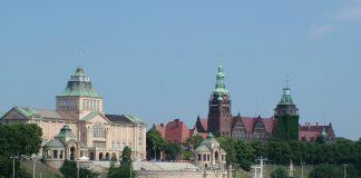 Szczecin - widok na Muzeum Morskie