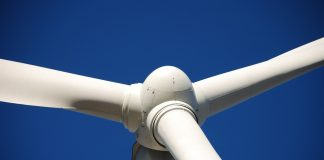 Turbina wiatrowa, zbliżenie
