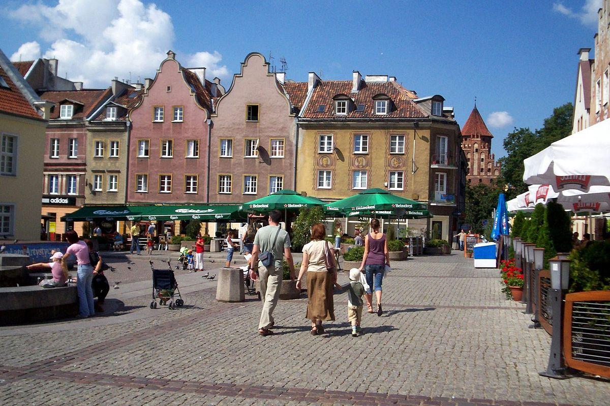 ul. Stare Miasto w Olsztynie