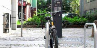 Stojak na rowery we Wrocławiu