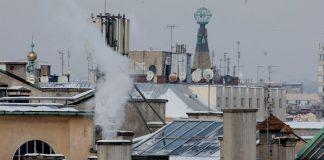 smog w Krakowie, komin