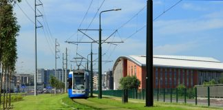Zielone torowiska tramwajowe w Krakowie
