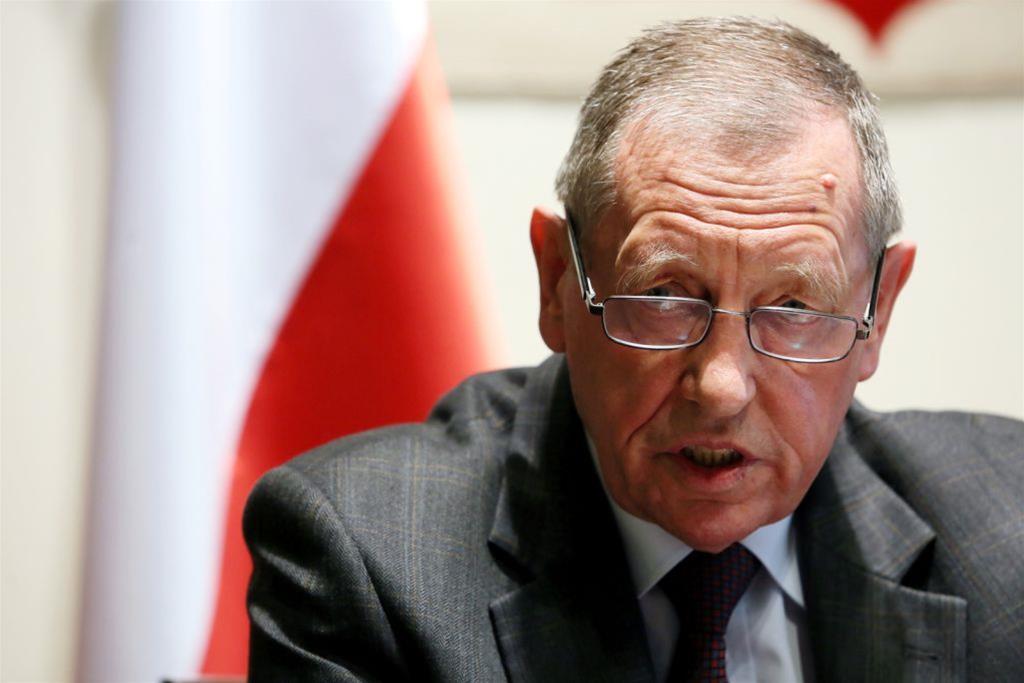 Jan Szyszko podczas zebrania Rady Ministrów