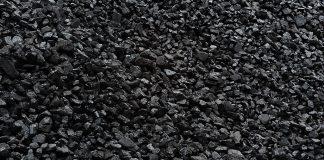 Duża ilość węgla kamiennego