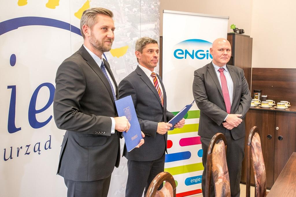 Podpisanie kontraktu na termomodernizację budynków oświatowych w Zgierzu w ramach partnerstwa z firmą Engie