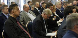 """Uczestnicy konferencji """"Eksploatacja i rekultywacja składowisk odpadów"""" zorganizowanej w 2017 r. w Świerardowie Zdroju przez firmę Abrys"""