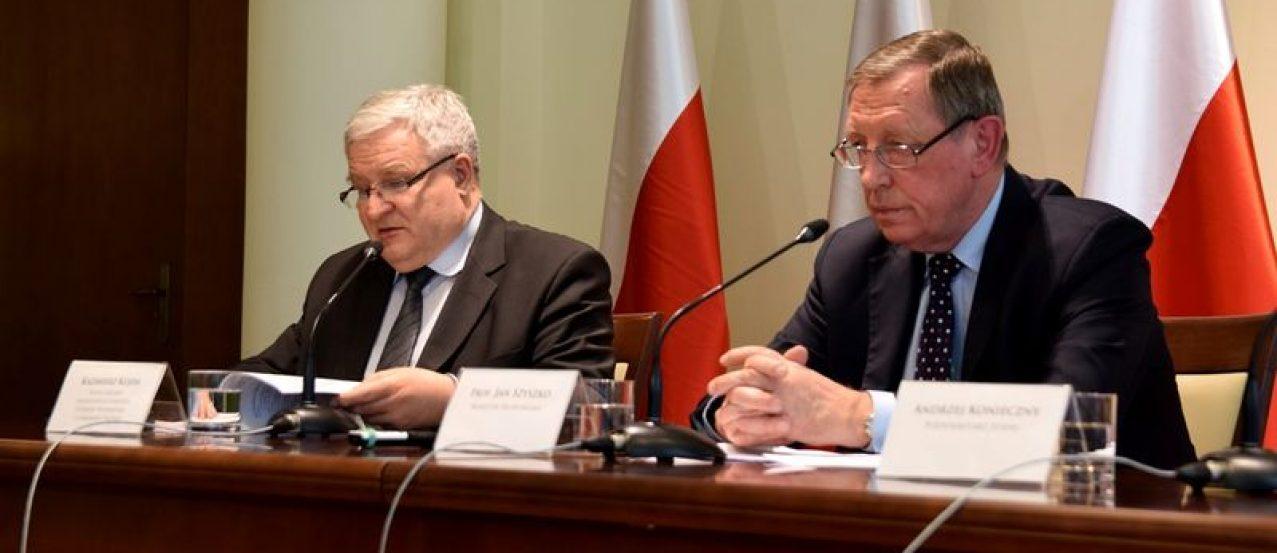 Kazimierz Kujda i Jan Szyszko