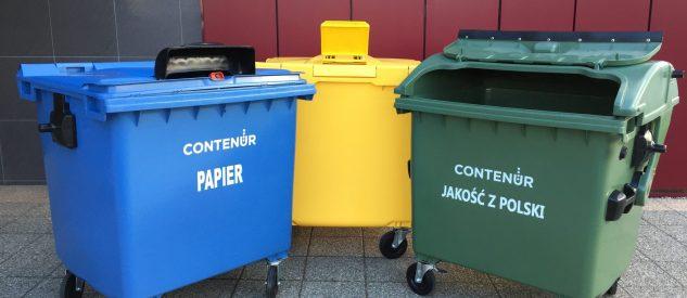 Pojemniki na odpady Contenur