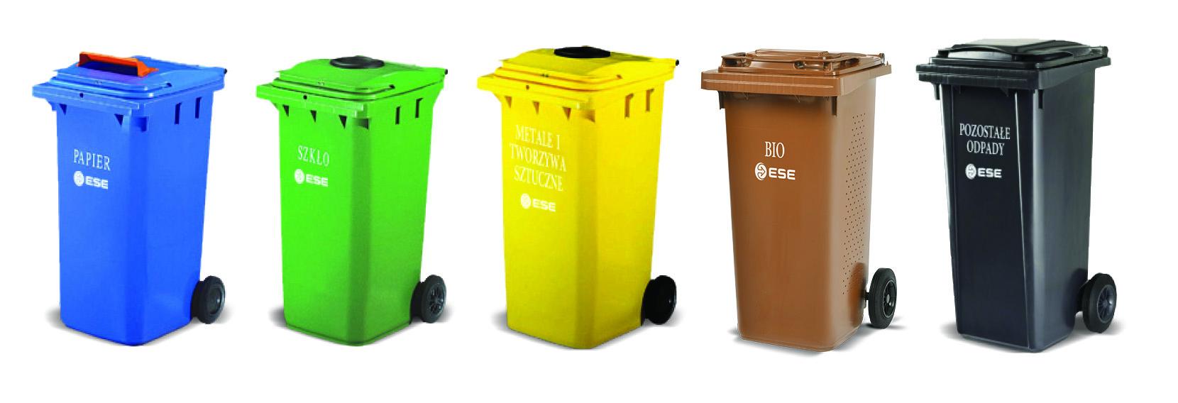 Pojemniki na odpady ESE