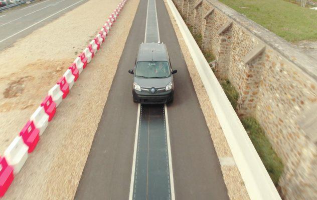 Bezprzewodowe ładowanie samochodu elektrycznego Renault