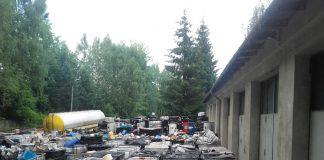 Odpady niebezpieczne na terenie byłej rafinerii w Gorlicach (woj. małopolskie)