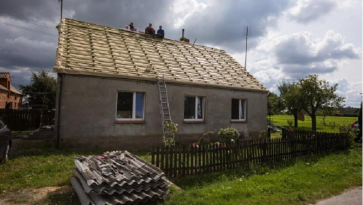 Dom po nawałnicach