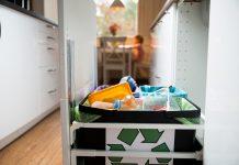 Pojemnik na odpady do recyklingu