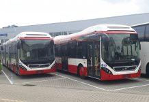 Autobusy hybrydowe Volvo w Sosnowcu