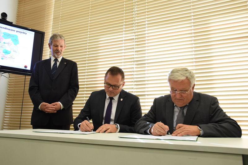 Podpisanie umowy na projekty geotermalne w siedzibie Ministerstwa Środowiska