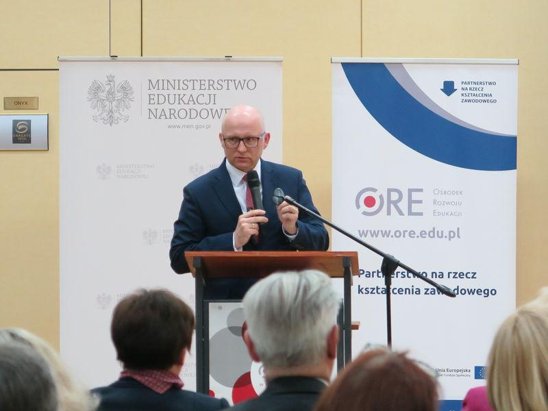 Andrzej Konieczny dyrektor Lasów Państwowych 2018