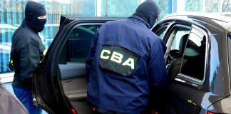 Funkcjonariusze Centralnego Biura Antykorupcyjnego (CBA)