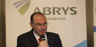 Marek Haliniak, Główny Inspektor Ochrony Środowiska (GIOŚ) podczas konferencji Abrys