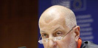 Prezydent Wrocławia Rafał Dutkiewicz podczas spotkania Komitetu Regionów UE