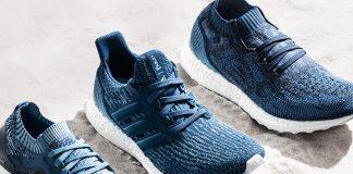 Buty sportowe Adidas x Parley stworzone na bazie materiałów z recyklingu plastików z oceanów