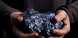 coal in the hands of the working