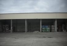 Hale z odpadami w RIPOK Stawnica