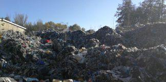 Miejsce nielegalnego składowania odpadów w Kłopotowie (dolnośląskie)