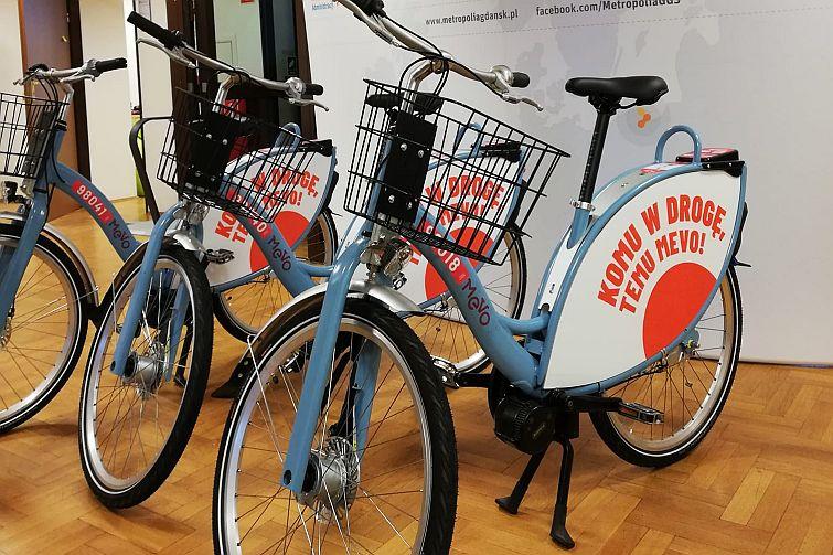 Rower Mevo w Trójmieście ruszy 26 marca. Rozruch testowy