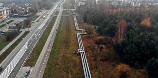 Rurociąg ciepłowniczy Enea w Białymstoku