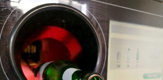 Automat do recyklingu butelek szklanych