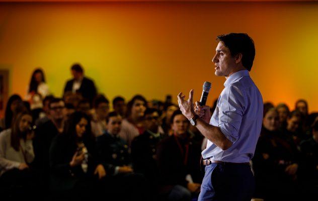 Prime Minister Trudeau attends the Canada Youth Summit in Ottawa. May 2, 2019. // Le premier ministre Trudeau participe au Sommet jeunesse du Canada à Ottawa. 2 mai 2019.