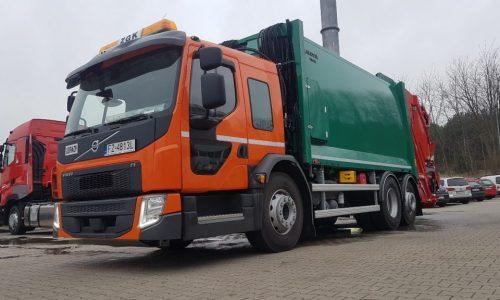 Volvo FE CNG
