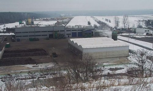 PGK Radomsko – technologia Biokompo: Biodome pionowy biofiltr