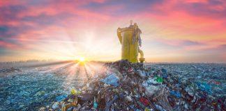 biogaz składowiskowy - produkcja biogazu na składowisku odpadów
