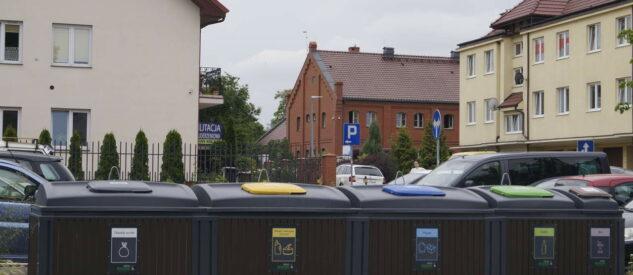 Podziemne pojemniki na odpady w Pruszczu Gdańskim